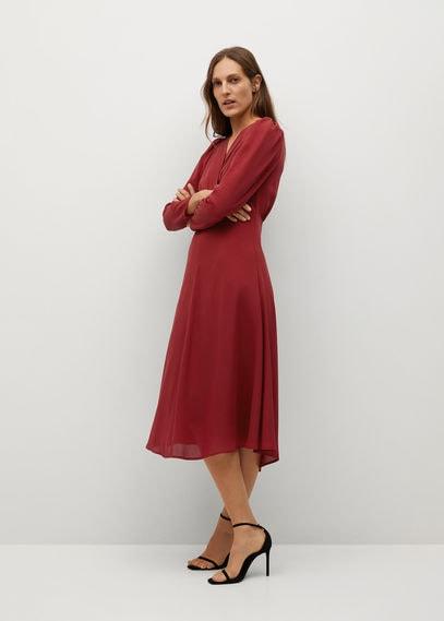 Отрезное ниже талии платье - Maria