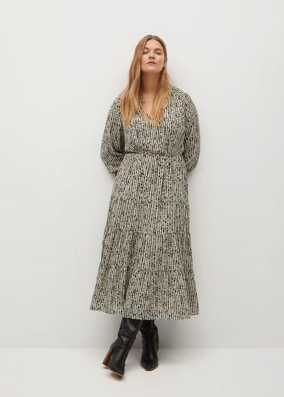Расклешенное миди-платье - Lara