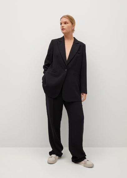 Костюмный пиджак с заострёнными лацканами - Bimba8