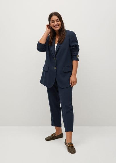 Структурированный костюмный пиджак - Leonor8