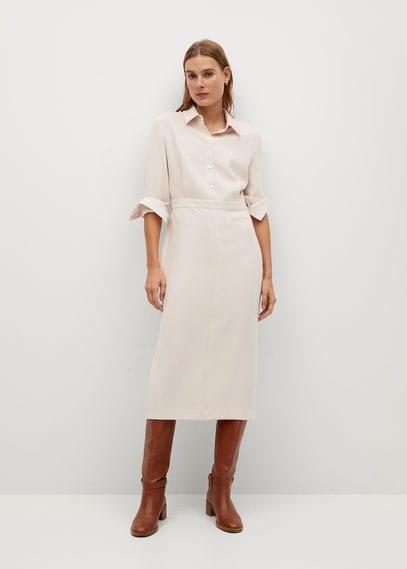 Платье-рубашка средней длины - Lea-i