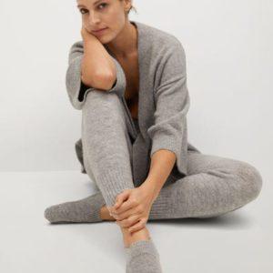 Нескользящие трикотажные носки - Bedc