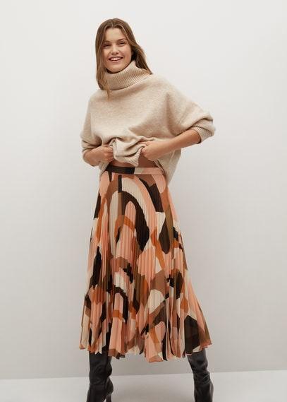 Плиссированная юбка с притом - Paloma-a