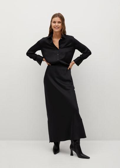 Длинная расклешенная юбка - Night-a