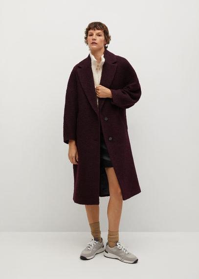 Фактурное пальто из шерсти - Fruita