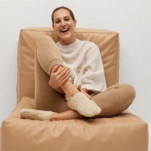 Нескользящие трикотажные носки - Habitac