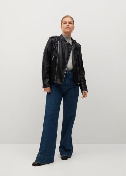Байкерская куртка с молниями - Barrow8