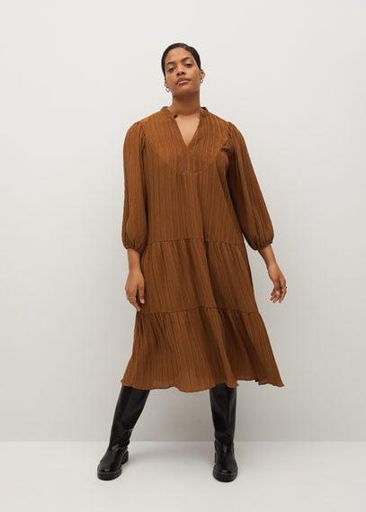 Расклешенное миди-платье - Anastasi