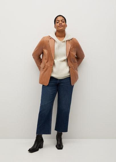 Пиджак 100% кожа - Blas