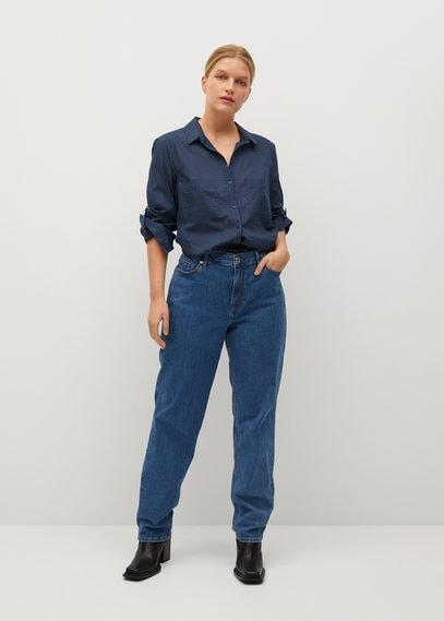 Принтованная рубашка из хлопка - Planap6