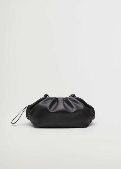 Кожаная сумка со сборками - Puffyb-i