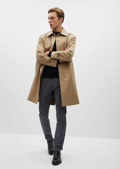 Вельветовые брюки в стиле джинсов slim fit - Bardem