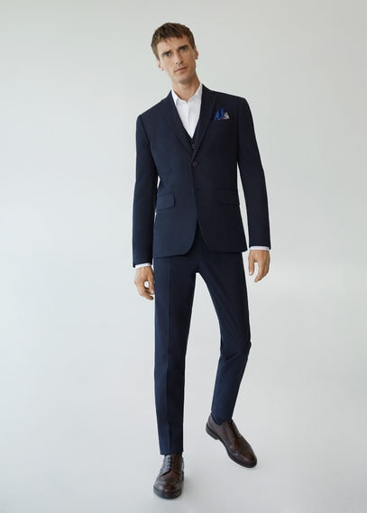 Костюмный пиджак slim fit - Brasilia