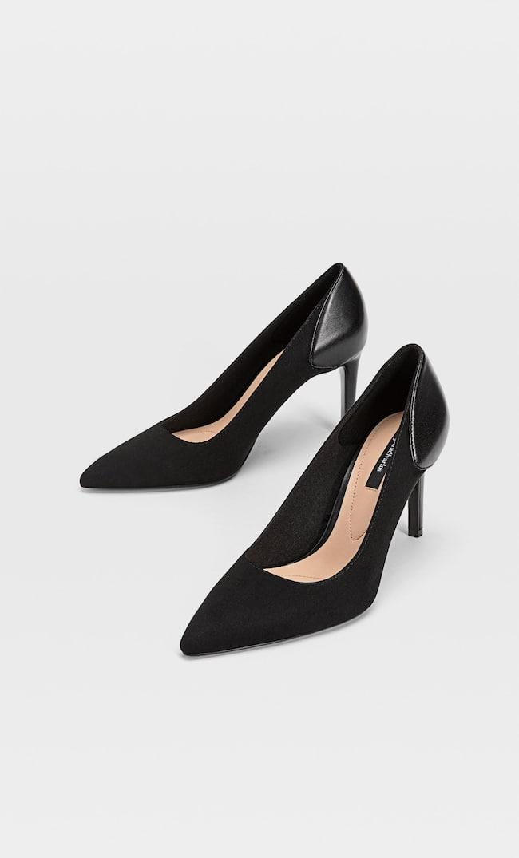 Туфли На Каблуке Женская Коллекция Черный 37
