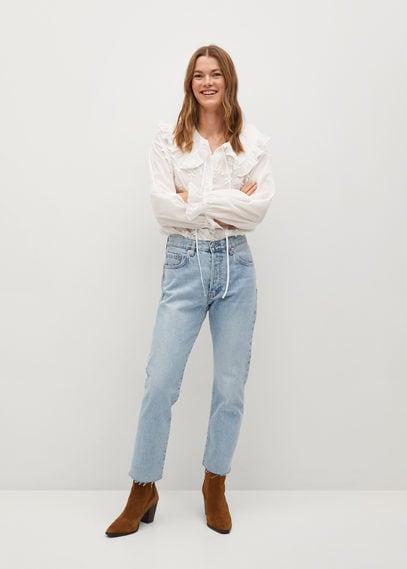 Прямые джинсы до щиколотки - Havana