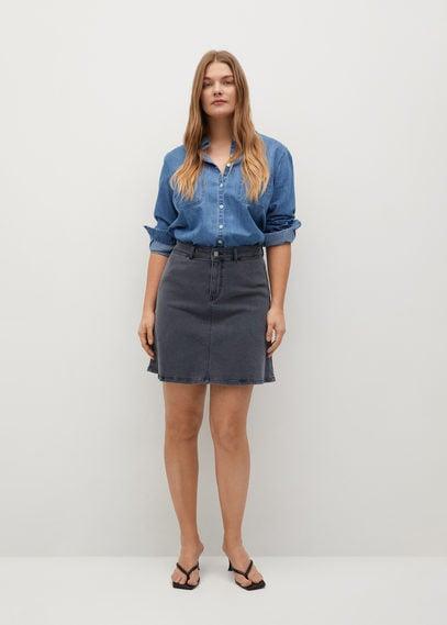 Короткая юбка из денима - Alba