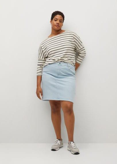 Короткая юбка из денима - Inma