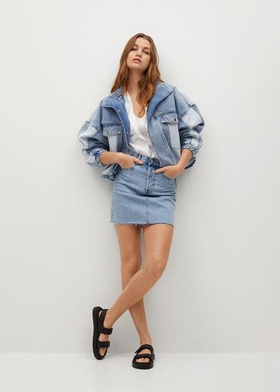 Джинсовая мини-юбка - Rachel