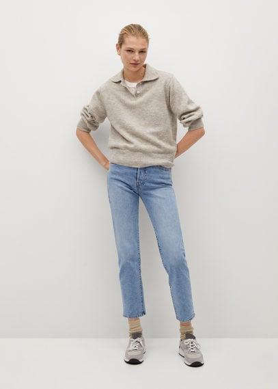 Прямые джинсы до щиколотки - Mar
