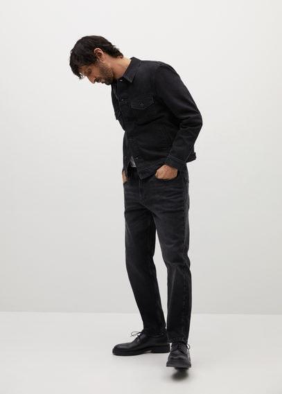 Куртка из черного денима - Ryan