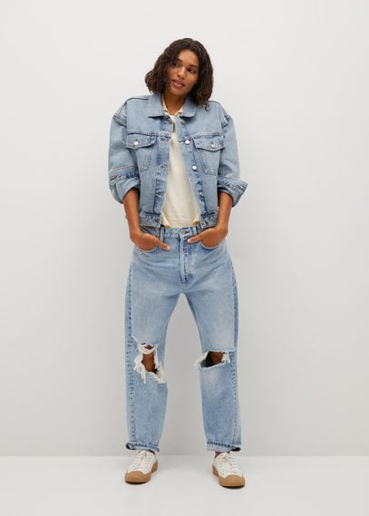 Джинсовая куртка с карманами - Rachel