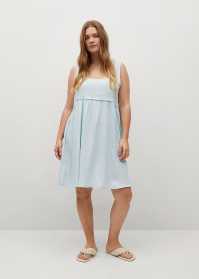 Короткое платье из лиоцелла - Adri-i