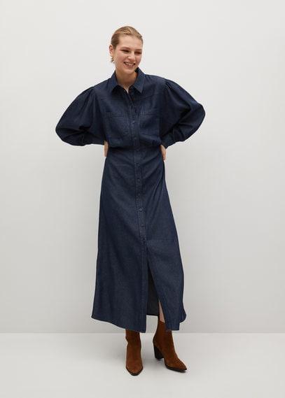 Платье-рубашка из лиоцелла - Demi-a