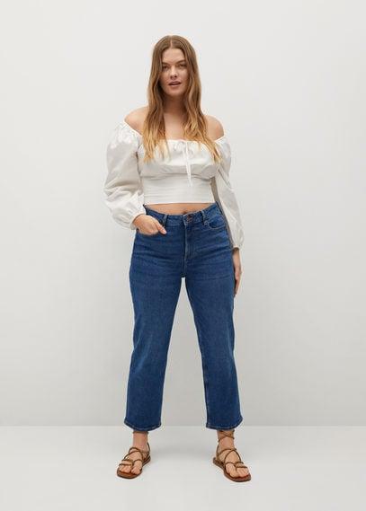 Укороченные джинсы straight - Elia